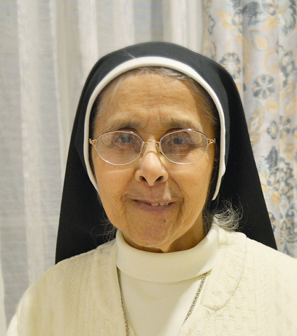 Sr. Mary of the Angels Correa Reyes