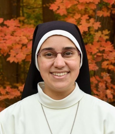Sr. Lourdes of the Holy Eucharist Rebecca Furnells